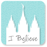 temple-i-believe-blue-silhouette